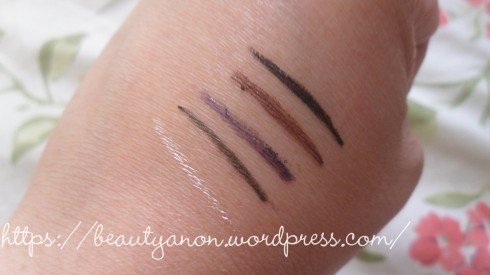 swatches in order